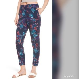 Roxy Floral pant- Size Small